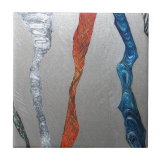 Cinco tornados metálicos expresionismo metálico azulejos ceramicos