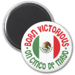 Cinco victorioso nacido De Mayo Imanes De Nevera