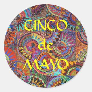 CincoDeMayo Classic Round Sticker