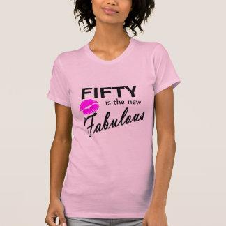 Cincuenta es los nuevo fabulosos camiseta