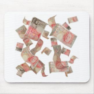 cincuenta notas de la libra tapetes de ratones
