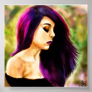 Cincuenta sombras de púrpura póster