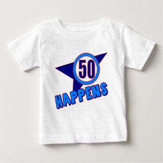 Cincuenta sucede los 50.os regalos de cumpleaños poleras