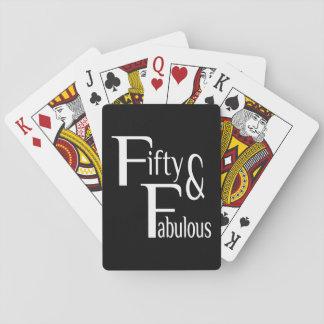 Cincuenta y fabuloso baraja de póquer
