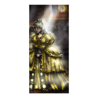 Cinder Girl Rack Card