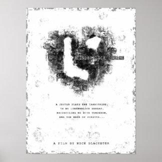 Cinderblock Dreams Heart Poster - LARGE