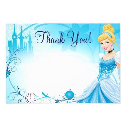 Cinderella 1 Thank You Cards