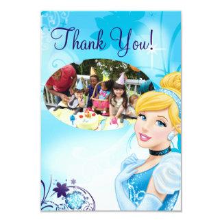 Cinderella 3 Birthday Thank You Cards