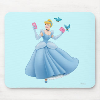 Cinderella and Birds Mouse Pad