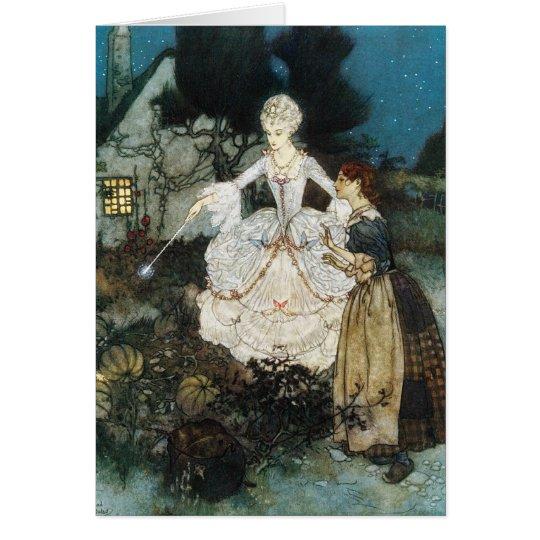 Cinderella and Fairy Godmother Card