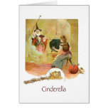 Cinderella and Fairy Godmother Greeting Card