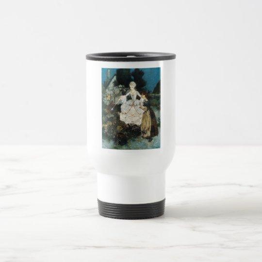 Cinderella and Fairy Godmother Travel Mug
