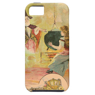 Cinderella And Her Fairy God Mother iPhone SE/5/5s Case