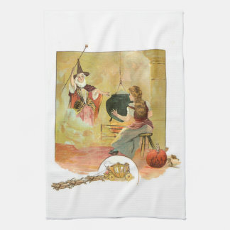 Cinderella And Her Fairy God Mother Towels