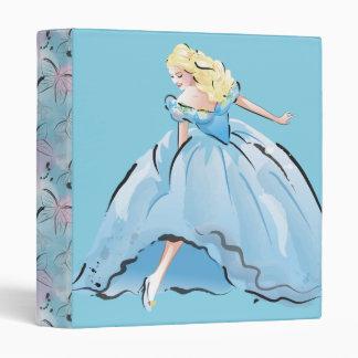 Cinderella And Her Glass Shoe Binder
