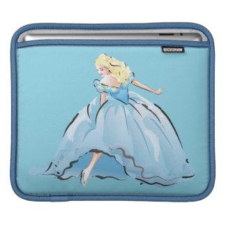 Cinderella And Her Glass Shoe iPad Sleeves