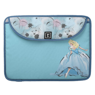 Cinderella And Her Glass Shoe MacBook Pro Sleeve