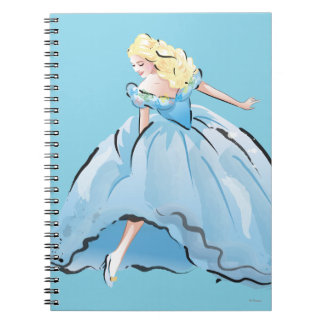 Cinderella And Her Glass Shoe Notebook