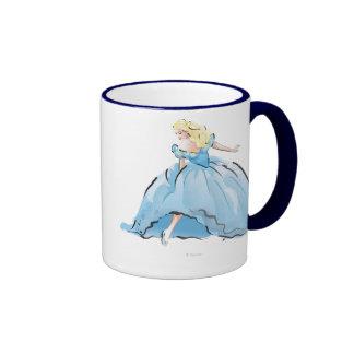 Cinderella And Her Glass Shoe Ringer Mug