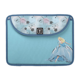 Cinderella And Her Glass Shoe Sleeve For MacBooks