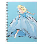 Cinderella And Her Glass Shoe Spiral Notebook