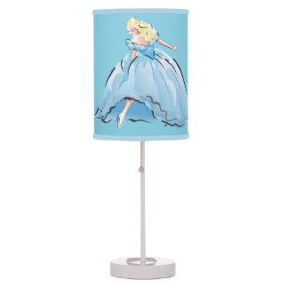 Cinderella And Her Glass Shoe Table Lamp