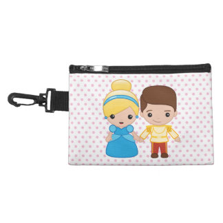 Cinderella and Prince Charming Emoji Accessories Bags