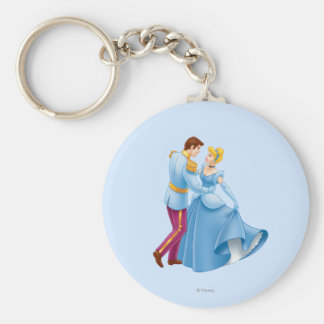 Cinderella and Prince Charming Keychain