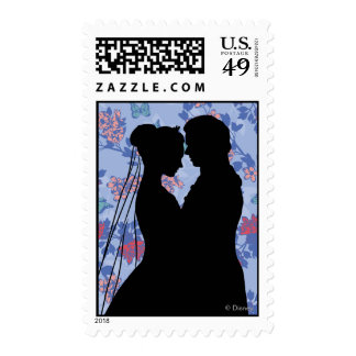 Cinderella And Prince Charming Postage Stamp
