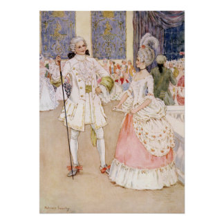 Cinderella and the Prince by Millicent Sowerby Poster
