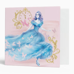 Avery Signature 1' Binder with Watercolor Cinderella design