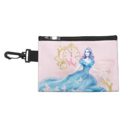 Clip On Accessory Bag with Watercolor Cinderella design