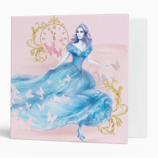 Cinderella Approaching Midnight Vinyl Binder