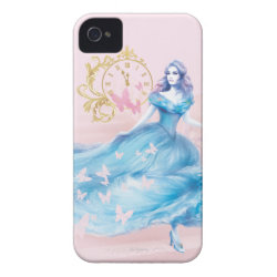Case-Mate iPhone 4 Barely There Universal Case with Watercolor Cinderella design