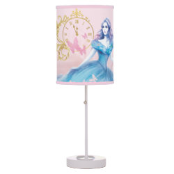 Table Lamp with Watercolor Cinderella design