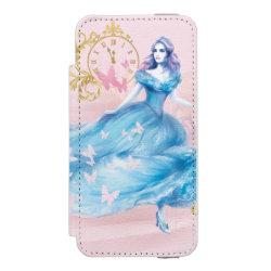 Incipio Watson™ iPhone 5/5s Wallet Case with Watercolor Cinderella design