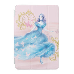 iPad mini Cover with Watercolor Cinderella design