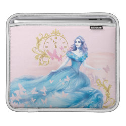 iPad Sleeve with Watercolor Cinderella design