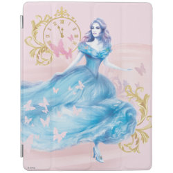 iPad 2/3/4 Cover with Watercolor Cinderella design