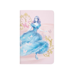Pocket Journal with Watercolor Cinderella design