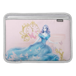 Macbook Air Sleeve with Watercolor Cinderella design