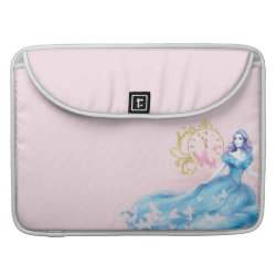 Macbook Pro 15' Flap Sleeve with Watercolor Cinderella design