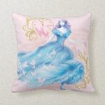 Cinderella Approaching Midnight Pillow