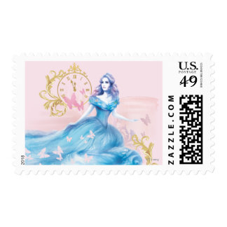 Cinderella Approaching Midnight Postage