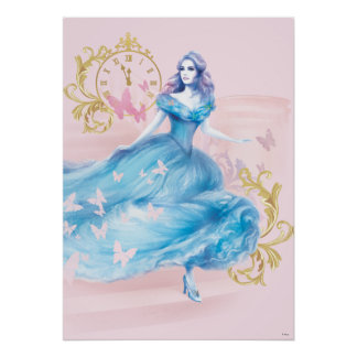 Cinderella Approaching Midnight Poster