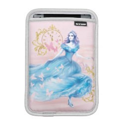 iPad Mini Sleeve with Watercolor Cinderella design