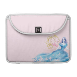 Macbook Pro 13' Flap Sleeve with Watercolor Cinderella design