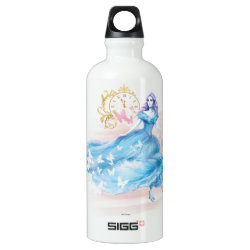 SIGG Traveller Water Bottle (0.6L) with Watercolor Cinderella design