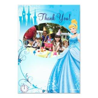 Cinderella Birthday Thank You Cards