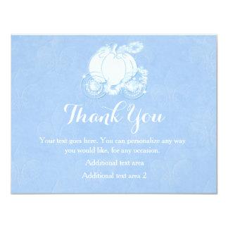 Cinderella Blue Royal Princess Carriage Card